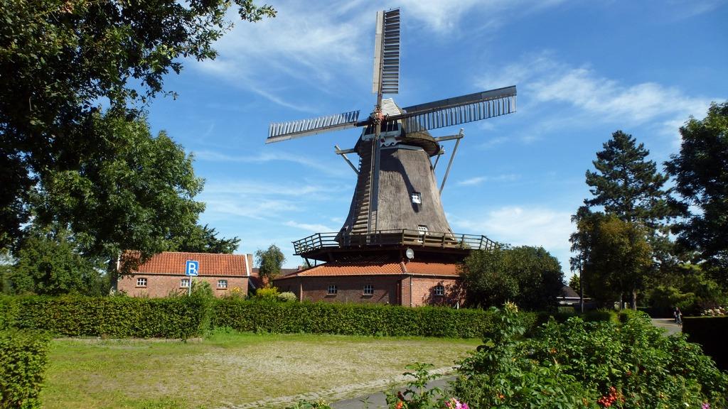 Die Mühle von Mitling Mark. OTG-Foto