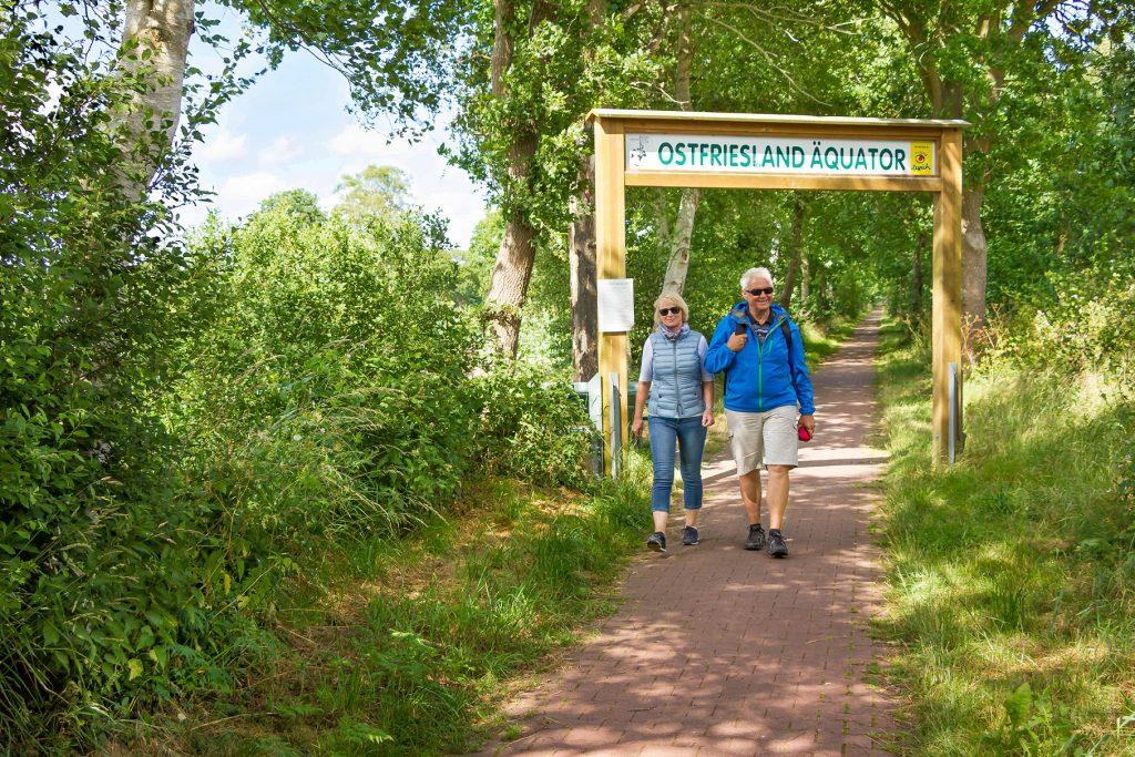 Wandern ist voll im Trend - auch in Ostfriesland. Foto: Ostfriesland Tourismus GmbH
