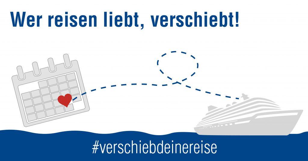 Eine Initiative des Deutschen Reiseverbandes mit einer Botschaft, die LUV&LEE nur unterstützen kann. Grafik: DRV