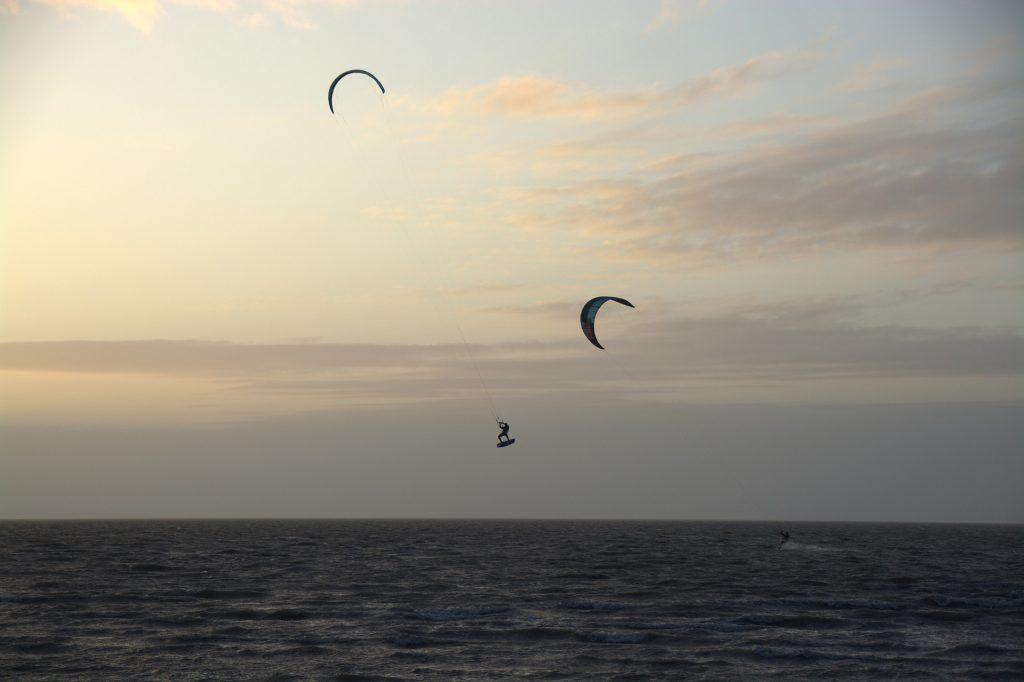 Borkum ist ein Eldorado für Kite-Surfer. Pixabay-Foto