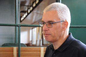 Aus dem Emsland nach Borkum: Rudolf Munk ist Betriebsleiter der Borkumer Kleinbahn. CA-Foto