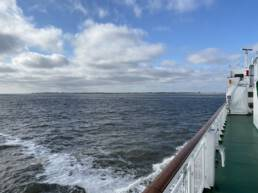 Mit LNG zur Insel Borkum. CA-Foto