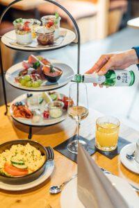 """Ein gutes Frühstück ist eine der Spezialitäten in der """"Rhederei"""". PR-Foto"""