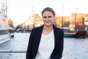 Citymanagerin Martje Merten, Emden. Foto: Tobias Bruns