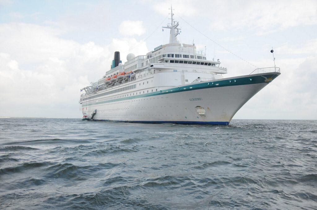 MS Albatros war über viele Jahre das schwimmende Zuhause von Kiona Ihmels. CA-Foto